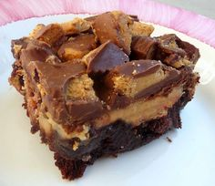 Reeses PNB Cheesecake Brownies--OH MY!!!