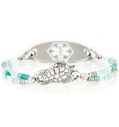 Franklin Medical Id Bracelet With White Oval Tag