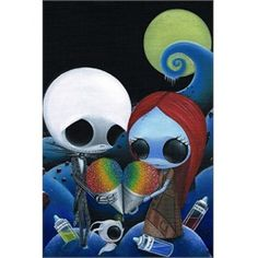 What's This by Sugar Fueled Jack Skellington Candy Framed Art Print