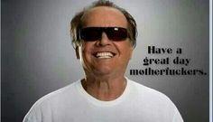 Love Jack Nicholson!