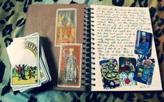 The Four Queens: tarot journals, problem cards and new territory