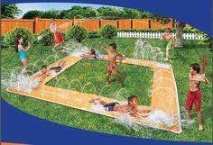 Water Baseball Slip N Slide Child Outdoor Summer Kids Waterslide Fun