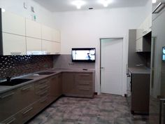 Corner Desk, Kitchen Cabinets, Furniture, Home Decor, House, Corner Table, Decoration Home, Room Decor, Cabinets