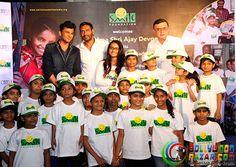 Ajay Devgn Joins Smile Foundation As A Goodwill Ambassador   #Bollywoodnazar #VikasKhanna #Nysa #AjayDevgn