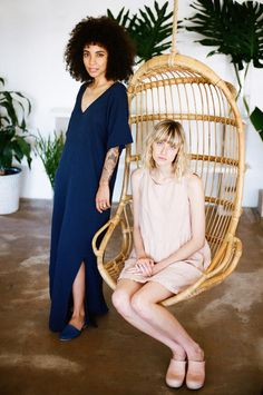  ESBY APPAREL LOOKBOOK SUMMER 2016 PART ONE    PHOTOGRAPHED BY KATHERINE SQUIER         FEATURING NIKISHA BRUNSON & JULIEWIER