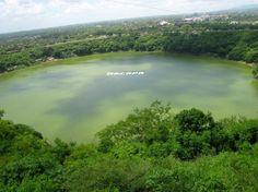 Laguna de Tiscapa. Managua, Nicaragua.