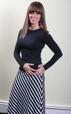 Enjoy buying modest layering tees made up of extra soft material which makes it an excellent layering top to wear all around the year. We went through great lengths to offer you the most stylish, comfortable and extremely soft to keep you comfortable all day. Machine washable, wrinkle resistant gently hugs your curves and prides you an elegant look.