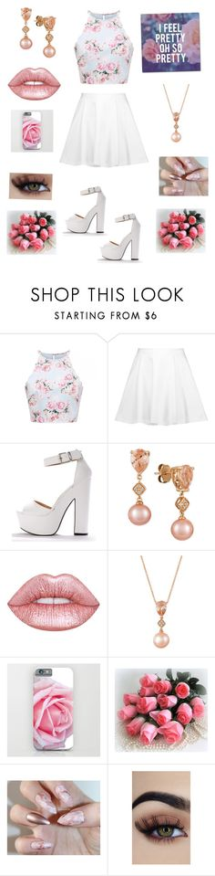 """""""Pretty nice 👍"""" by nicolemk27 ❤ liked on Polyvore featuring Alice + Olivia, LE VIAN, Lime Crime and Trademark Fine Art"""