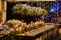 kings table wedding hanging centerpiece hanging wedding centerpiece by Elevate Photography Hanging Centerpiece, Greenery Centerpiece, Floral Centerpieces, Wedding Centerpieces, Centrepieces, Affordable Wedding Venues, Outdoor Wedding Venues, Wedding Reception Decorations, Table Wedding