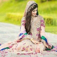 Bride Pakistani Wedding Outfits, Pakistani Wedding Dresses, Bridal Outfits, Wedding Attire, Walima Dress, Wedding Lehnga, Mehndi Dress, Bridal Lehenga, Wedding Photoshoot
