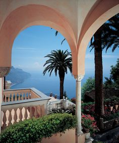 Palazzo Sasso, Ravello - Italy  Absolutely the most enchanting place I've ever been...hands down!!!