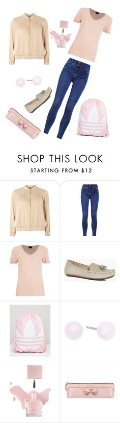 """Untitled #124"" by skylovessave ❤ liked on Polyvore featuring Dorothy Perkins, VILA, Boohoo, adidas, Michael Kors and Ted Baker"
