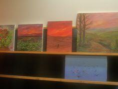 """Varios cuadros de pintores del estudio """"La magia de Rudi"""""""