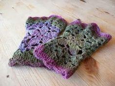 043.- Crochet complementos: mitones Antes de que se nos vaya el frío y por petición de una lectora una serie de mitones que me han llamado l...