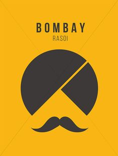 Bombay Rassoi on Behance #BombayRassoi #logo #logodesign #indian #restaurant #branding #menudesign #takeaway #restaurantbranding #yellow #brandnewebsites