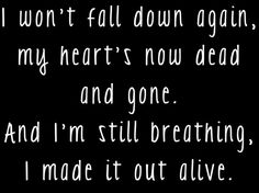 Another bottle down - asking Alexandria