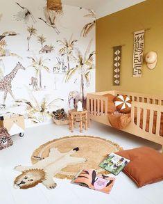 Toddler Rooms, Baby Boy Rooms, Baby Bedroom, Baby Room Decor, Childrens Room Decor, Kids Bedroom, Toddler Bed, Safari Room Decor, Safari Kids Rooms