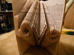 Book Origami, inspired by Isaac Salazar  (original work by Sarah E. Albritton)