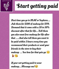 Msg me for more info