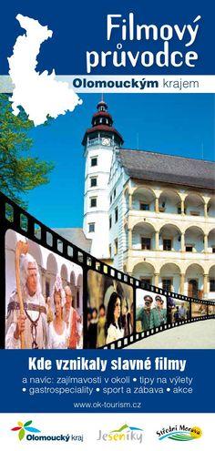 Filmový průvodce Olomouckým krajem  Olomoucký kraj nadchne každého návštěvníka svou rozmanitostí. Najdete zde historické, přírodní a kulturní památky, technické zajímavosti i nedotčenou horskou přírodu. A krásy regionu neunikly ani pozornosti filmových štábů. Tento průvodce vás zavede nejen na filmová místa, kde se vše odehrávalo, ale nabízí i tipy na výlety.