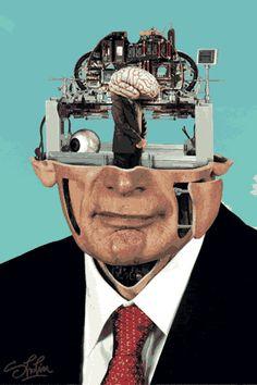 Mechanized heads Milos Rajkovic