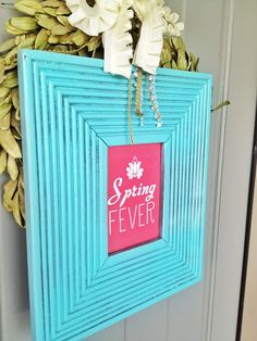 Free Printable!  I love this Spring Fever Printable! Its just what Ive been looking for.  entirelyeventfulday.com