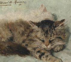 DE ARTE EM ARTE : Henriette Ronner Pintora holandesa (1821-1909)