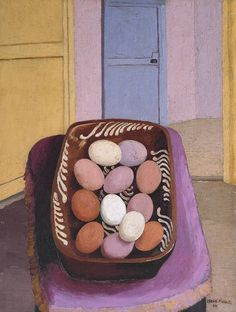 Feeling Easter-y with Cedric Morris' egg basket from 🐣 The bold pinks and purples, typical of Morris' paintings, feel spring-like and… Egg Basket, Mini Eggs, Art Uk, Art Activities, Your Paintings, Painting & Drawing, Painting Tips, Art Prints, My Favorite Things