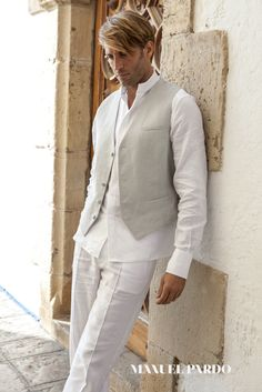 Suit for beach wedding