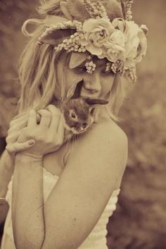 55-woman-bunny-sepia-large-flower-headpiece