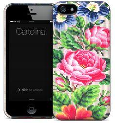 Cartolina iPhone case - Needlepoint