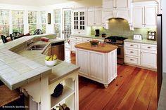 Kitchen Design Trends 2016 | Backsplash & Cabinet Designs - Don Gardner House Plans Home Renovation, Home Remodeling, Kitchen Remodeling, Open Concept Great Room, Trends 2016, Luxury Kitchen Design, Cabinet Design, Planer, Home Kitchens