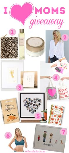 Mother's Day goodies giveaway   Oh Lovely Day #goodies #formoms #mothersday
