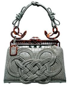 1947 Dior Alligator Samourai Bag, via House of Dior.