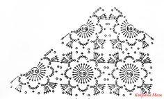 ". Ажурная кофточка ""Винтаж"" Crochet Motif Patterns, Crochet Blouse, Crochet Clothes, Inspiration, Diagram, Crocheting Patterns, Vestidos, Drinkware, Crochet Vest Pattern"