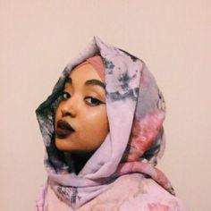Cute girl in a hijab