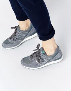 New Balance 996 Gray Suede Mix Sneakers saved by #ShoppingIS