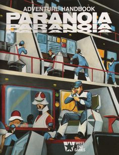 Paranoia (1st Edition) | Image | RPGGeek
