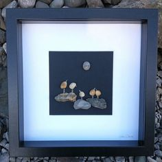 'Birds of a Feather'....these little guys are hanging out on the rocks under the light of the moon. Handmade using pebbles and stones collected along the shores of the Irish Sea. A unique gift for family friends or a special group which can be personalized with a name or short quote. Available now in my Etsy shop; http://ift.tt/2r3z4nN . . . #birds #birdsofafeather #birdsofinstagram #instabirds #handmadegifts #handcrafted #giftfromireland #friends #family #siblings #pebbleart #etsy…