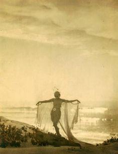 Lillian Powell in costume of Julnar of the Sea,1919byArthur Kales