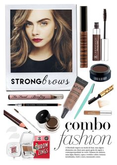 """delevigne brows"" by lialicious ❤ liked on Polyvore featuring beauty, Anastasia Beverly Hills, Lord & Berry, Givenchy, NYX, Lancôme, Too Faced Cosmetics, Boohoo, By Terry and Benefit"
