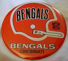 Vintage bengals pin