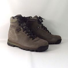 Womens Asolo AFX 530 Gray Leather Hiking Trail Backpacking Boots Size 8 1/2 Med