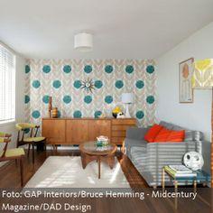 Wie man einen tollen Retro-Look stylen kann - mehr auf www.roomido.com/wohnideen-f/wohnraeume/einrichtungsstile/retro-look-stylen