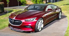 Opel Monza Four-Door Coupe Would Make A Sweet Merc CLS Rival #Concepts #Opel