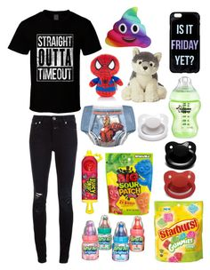"""All Over the Place (cglre)"" by transboyfanboy ❤ liked on Polyvore featuring Closed and Marvel"
