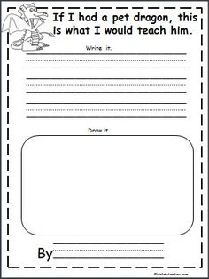 Dragon Story Writing Template Search Results Calendar 2015