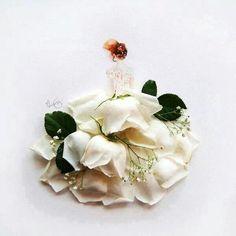 Flor arte bailarina