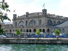 Zurich Hauptbahnhof, Switzerland