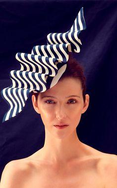 Contour headpiece, £POA, Laura Apsit Livens
